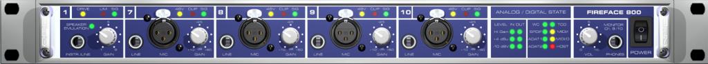 hangkártya interface digitális analóg