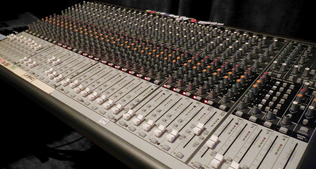 keverőpult hangstúdió